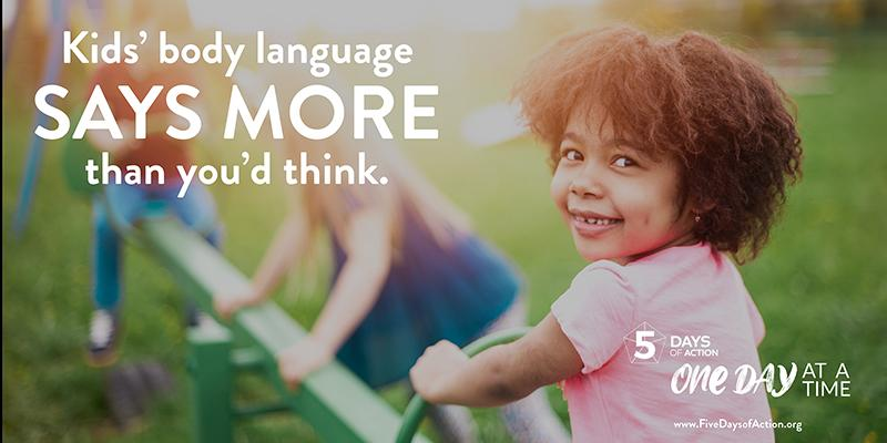 Kids' body language says more than you'd think